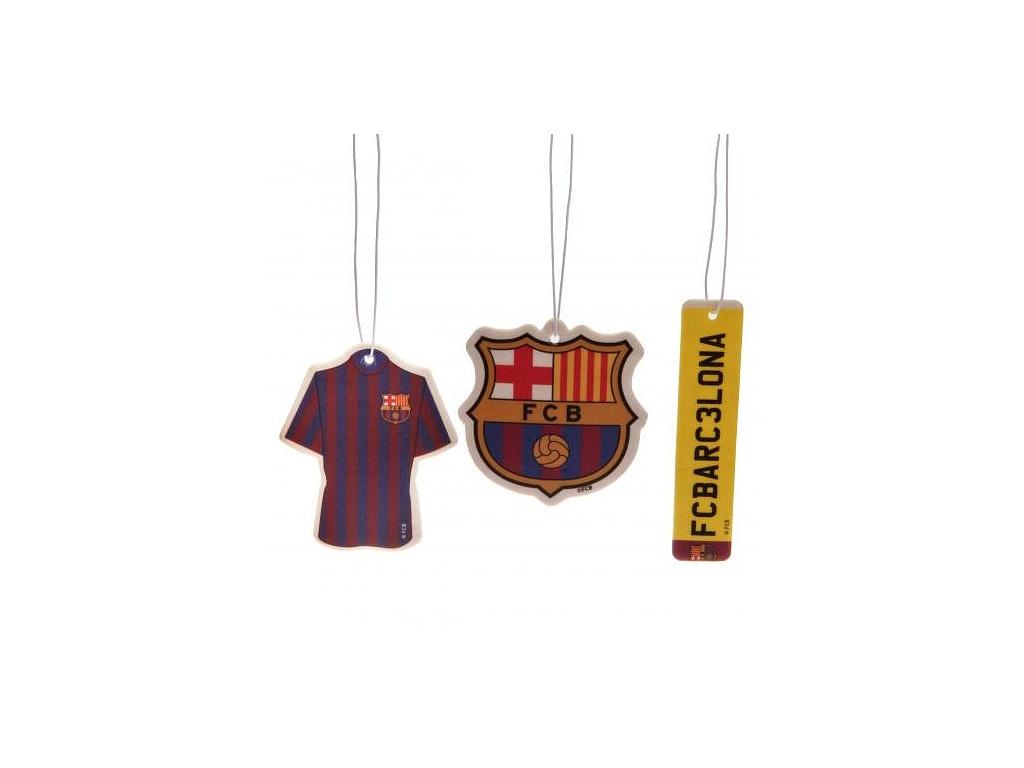 Vůně do auta FC Barcelona 3pk