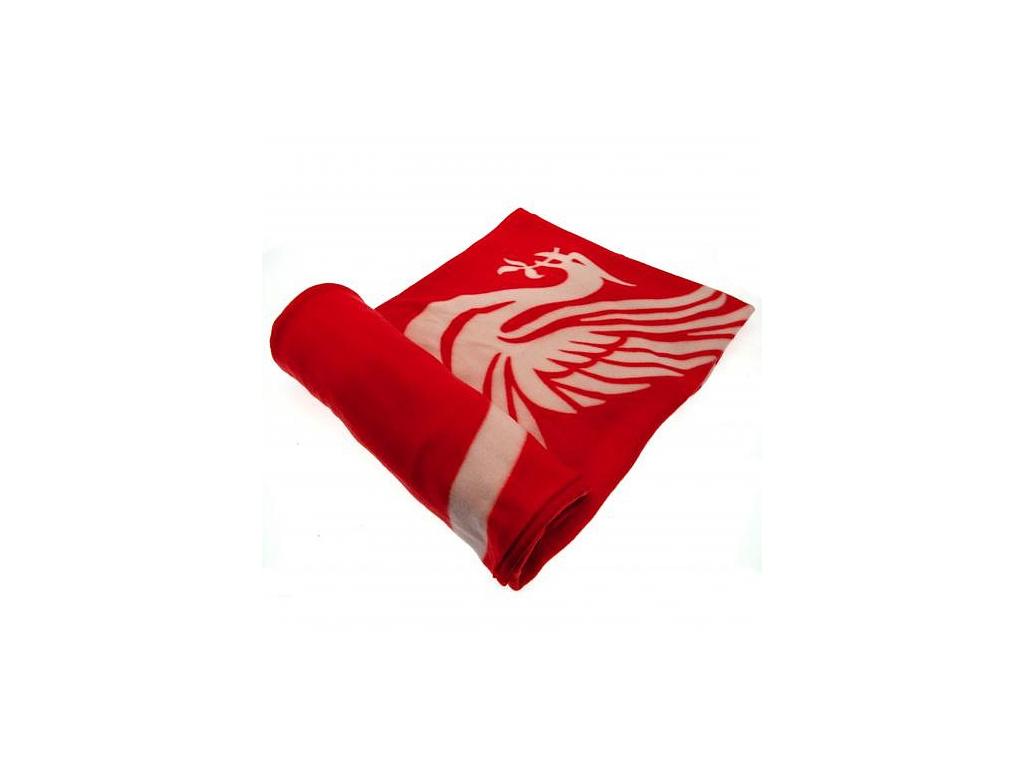 Fleecová deka Liverpool FC 125x150cm