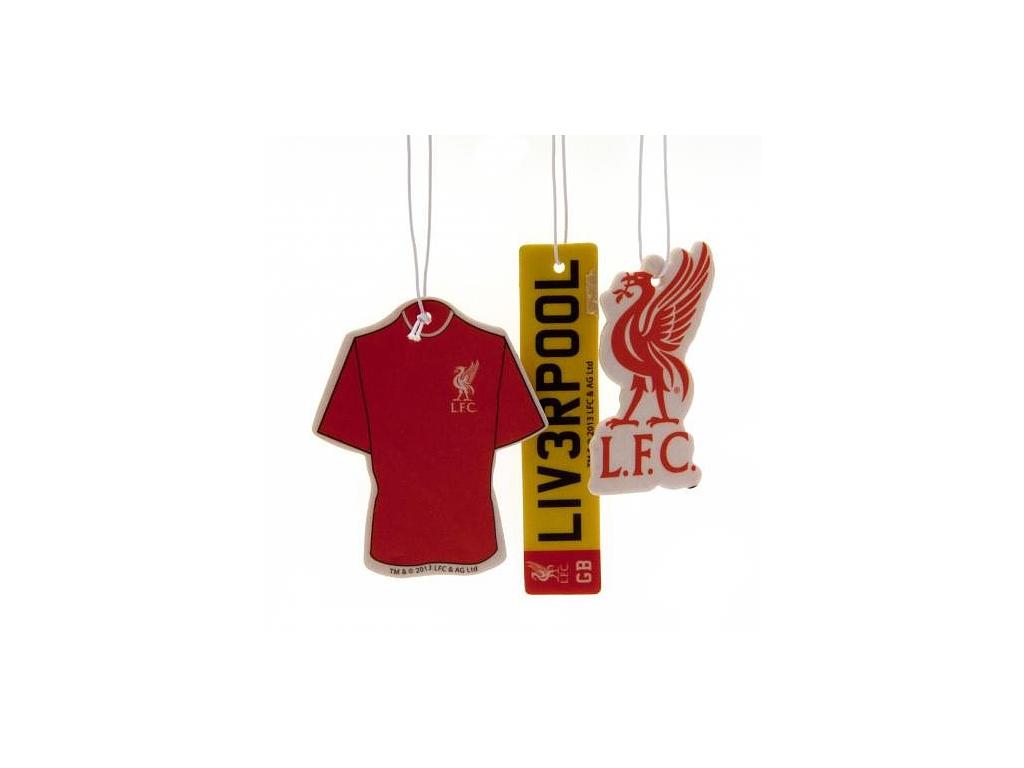 Vůně do auta Liverpool FC 3pk