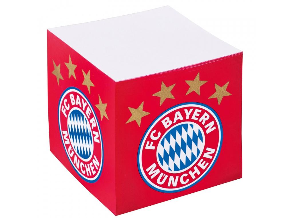 Poznámková kostka Bayern Mnichov
