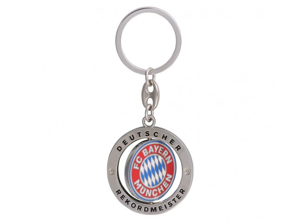 Přívěšek na klíče Bayern Mnichov otočný