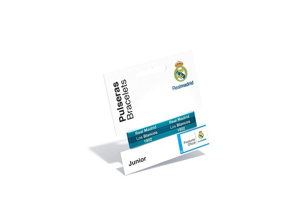 Sada náramků Real Madrid 3ks blue, dětské