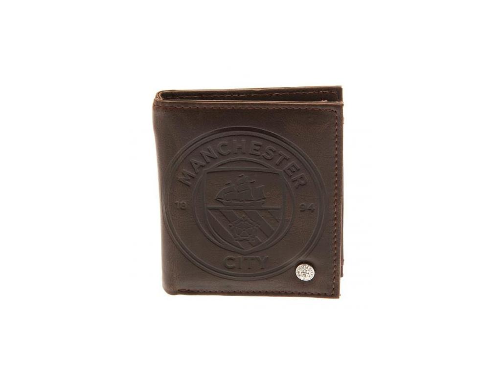 Luxusní kožená peněženka Manchester City 18