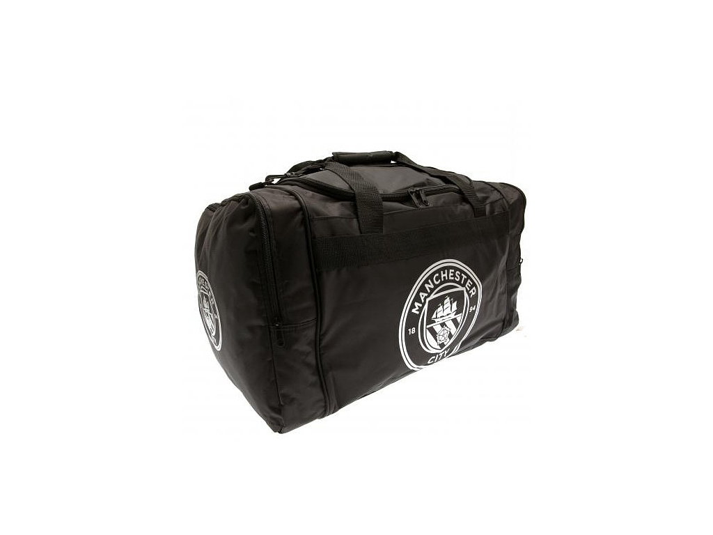 Sportovní taška Manchester City černá