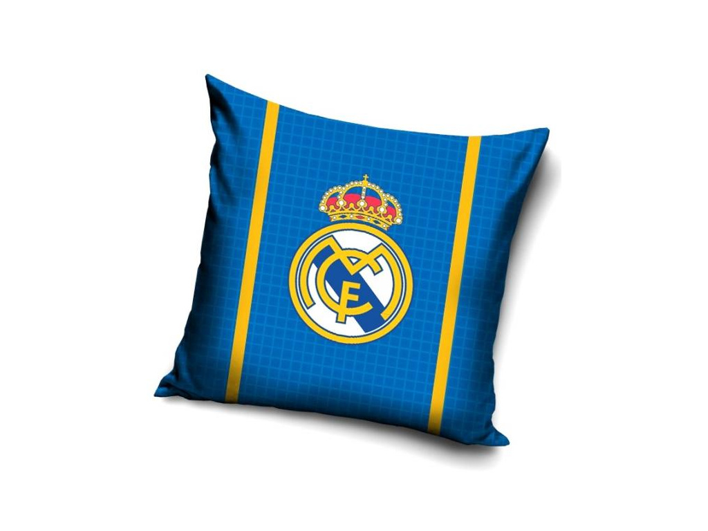 Polštářek Real Madrid blue 40 x 40 cm