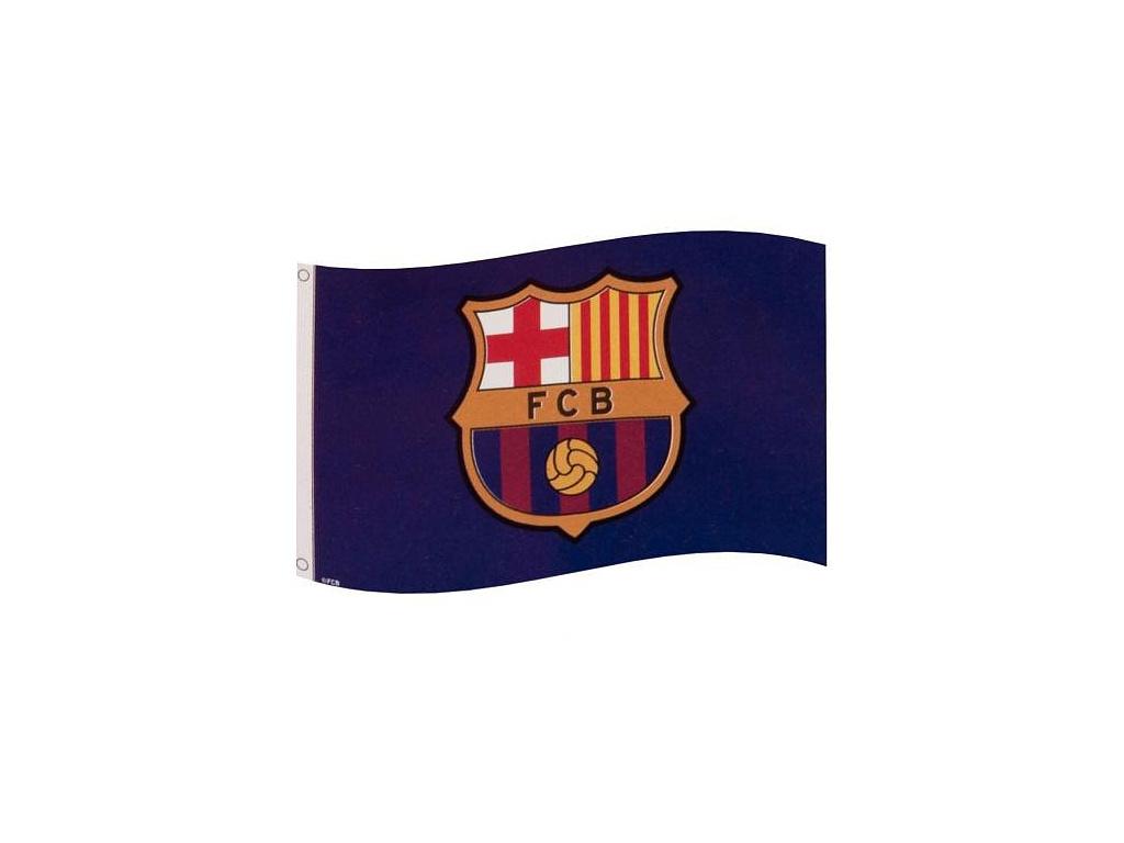 Vlajka FC Barcelona cc