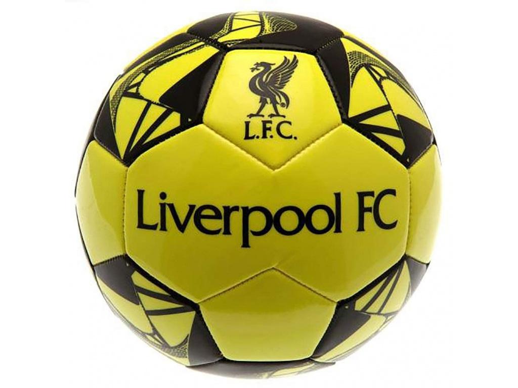 Fotbalový míč Liverpool FC fluo vel.5