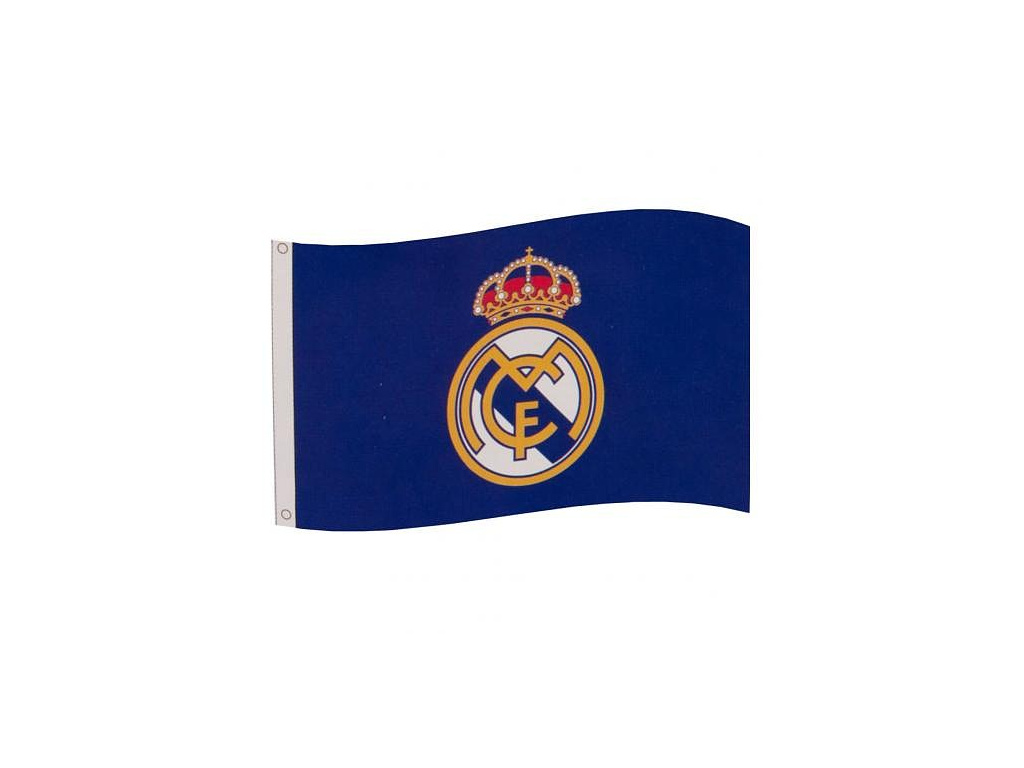 Vlajka Real Madrid 18 blue