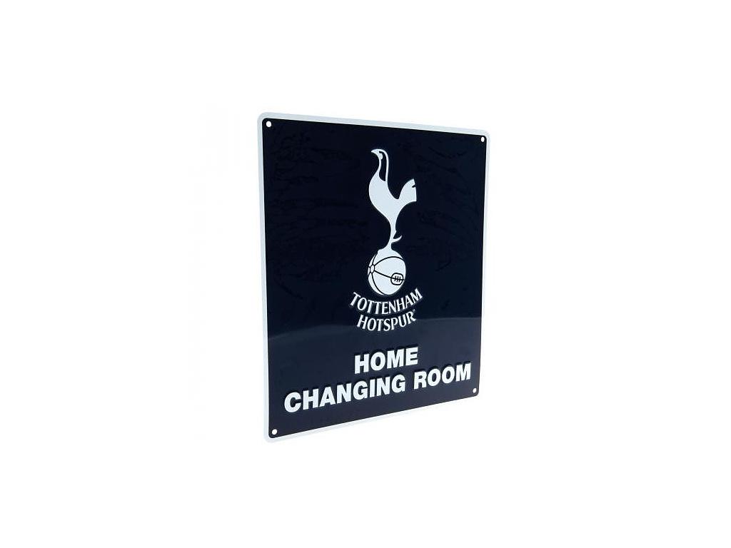 Plechová cedule Tottenham Hotspur Home Changing