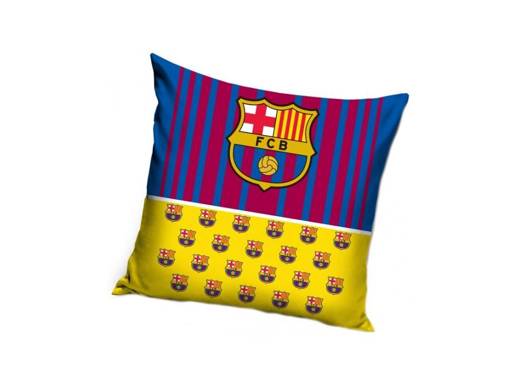 Povlak na polštářek FC Barcelona 18 znaky 40x40 cm