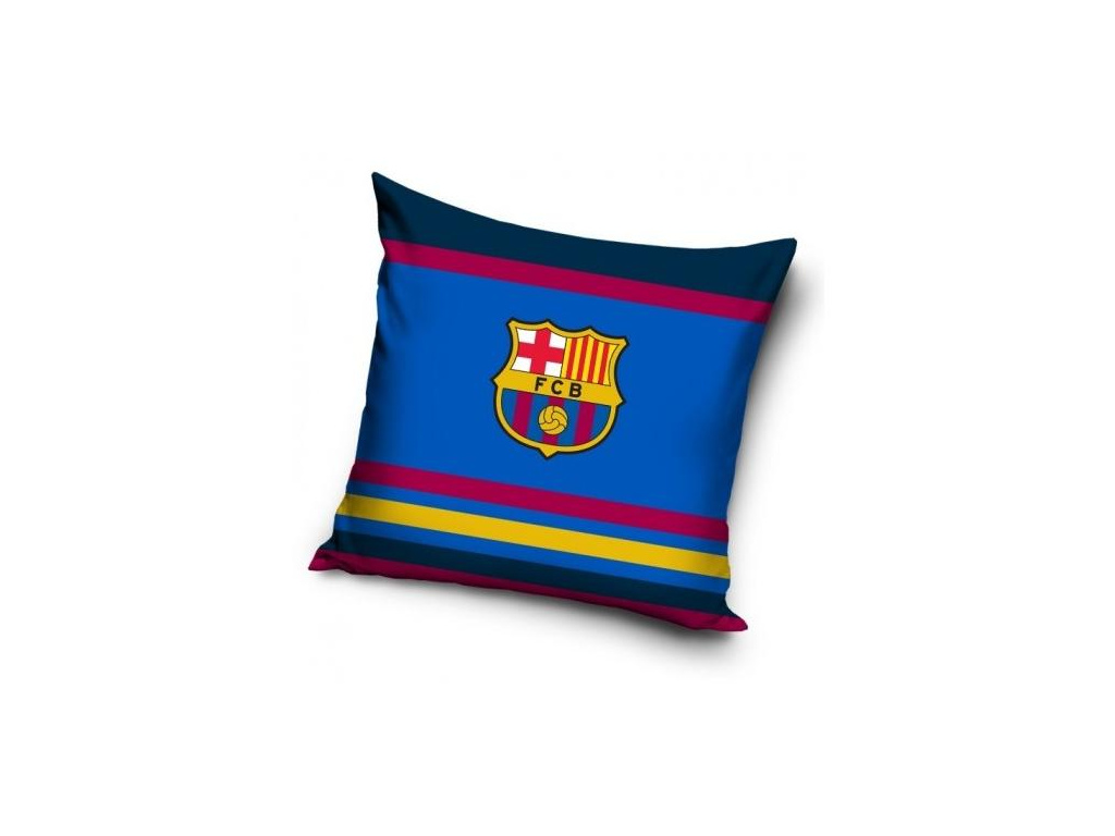 Povlak na polštářek FC Barcelona 18 color 40x40 cm