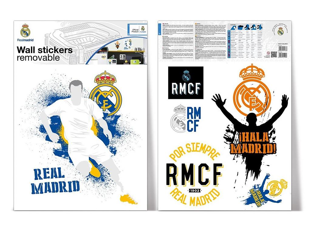 Samolepící dekorace Real Madrid player 2 archy A3