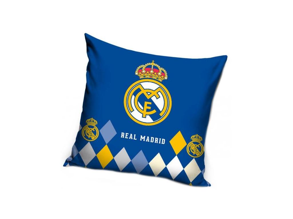 Povlak na polštářek Real Madrid 18 modrý 40x40 cm
