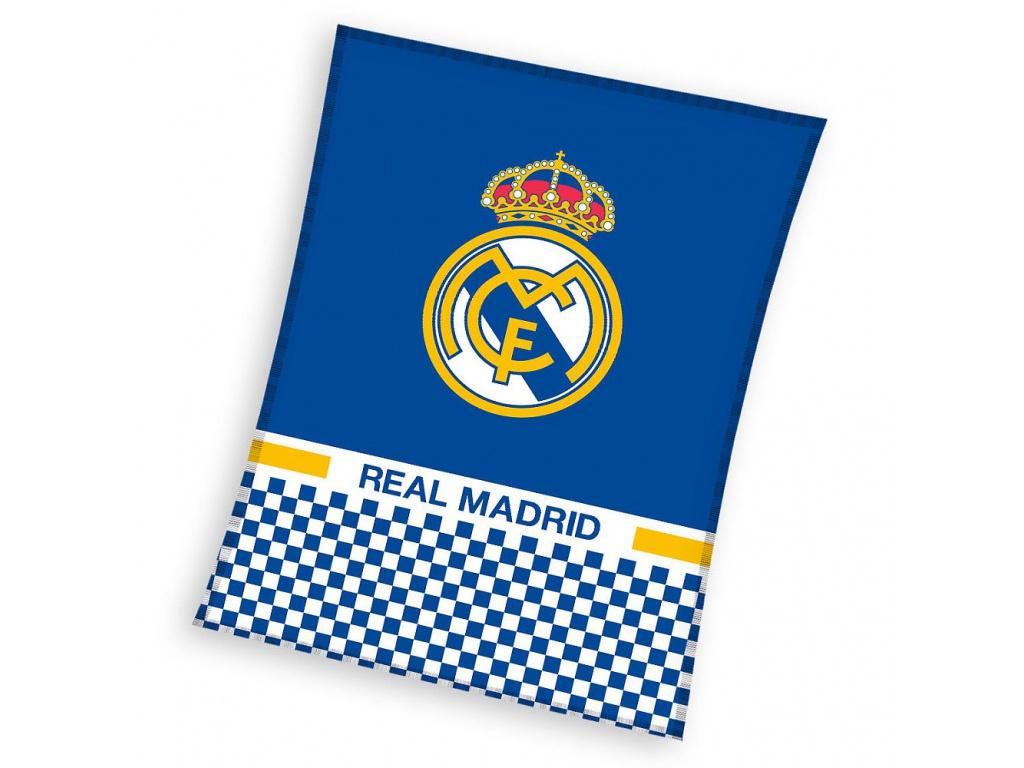 Fleecová deka Real Madrid 18 110x140cm
