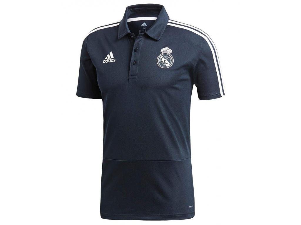 Pánské polo Adidas Real Madrid teconi 18/19