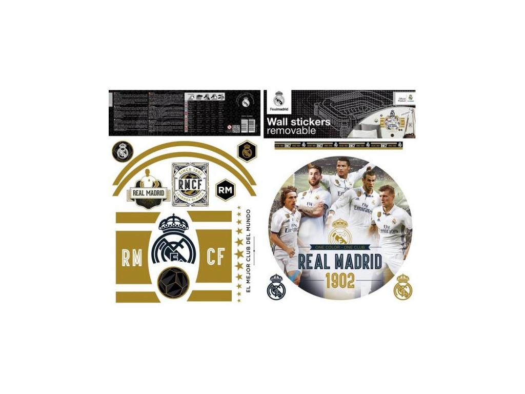 Samolepící dekorace Real Madrid premium 2 archy A3