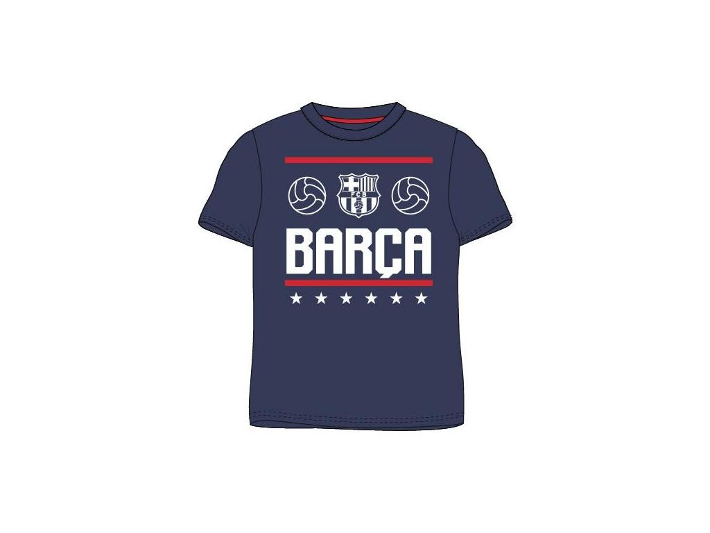 Tričko FC Barcelona 18 modré