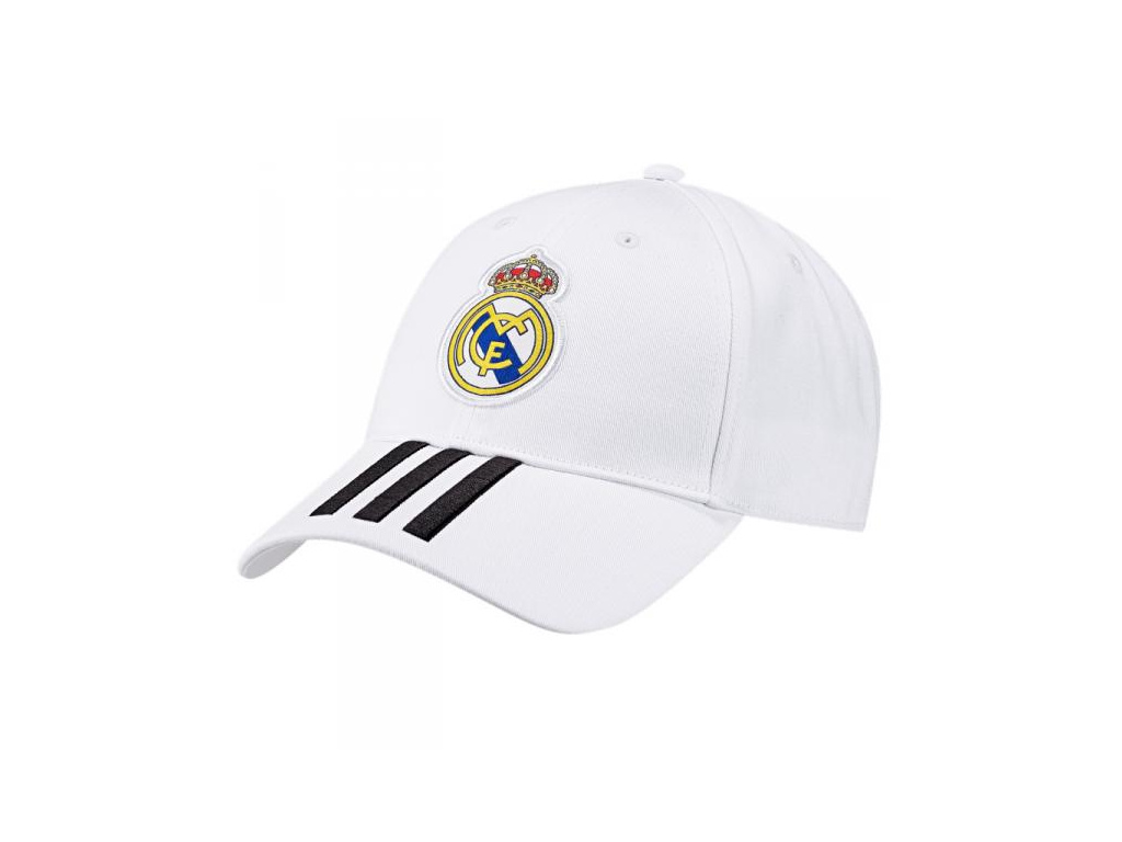 Kšiltovka Adidas Real Madrid 3S 18/19 bílá