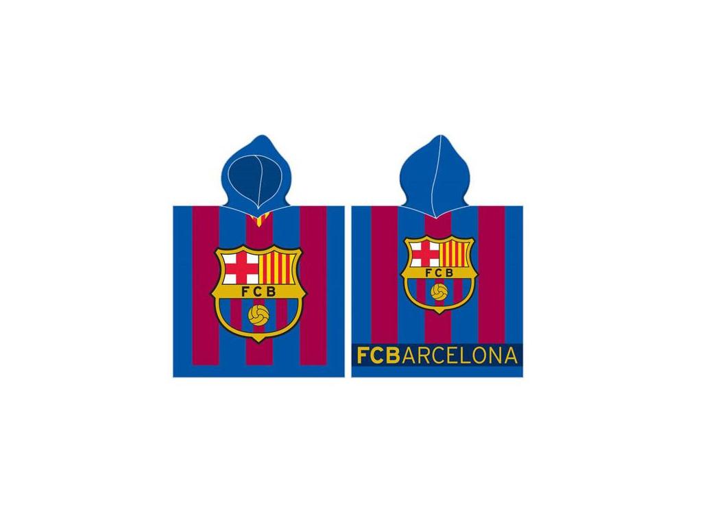 Dětské pončo FC Barcelona