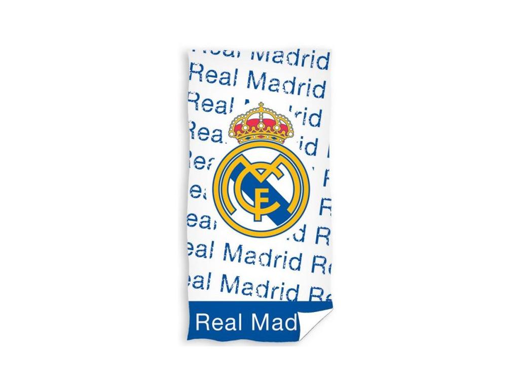 Osuška Real Madrid texty 18 75x150cm
