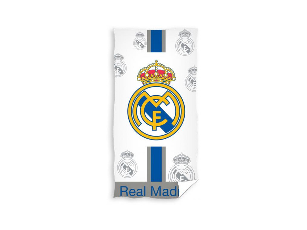 Osuška Real Madrid znaky 18 75x150cm
