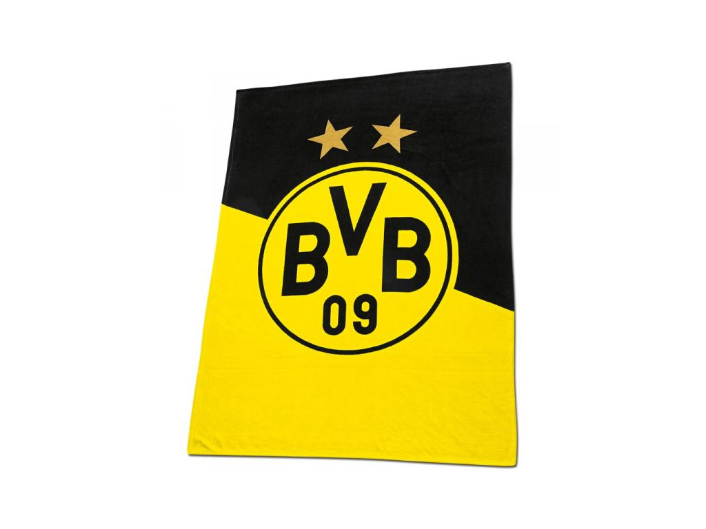Fleecová deka Borussia Dortmund 150x200 cm