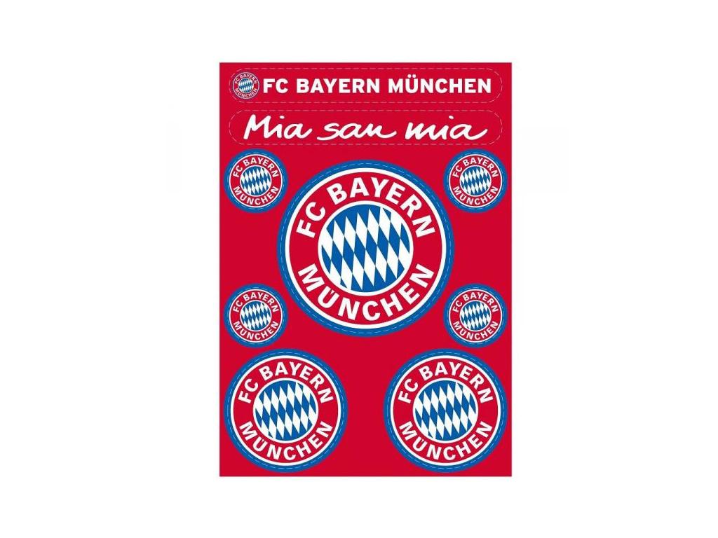 Sada samolepek Bayern Mnichov