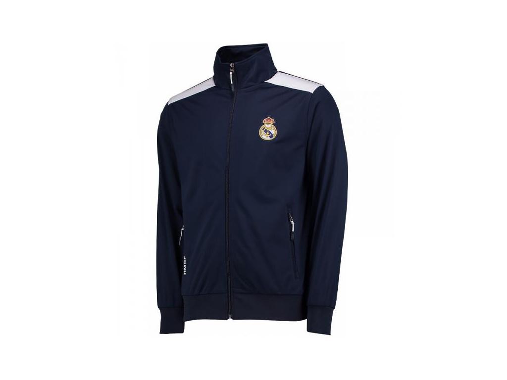 Pánská bunda Real Madrid fullzip navy