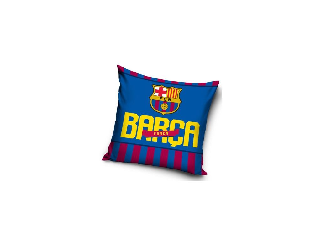 Polštářek FC Barcelona Barca 40x40 cm