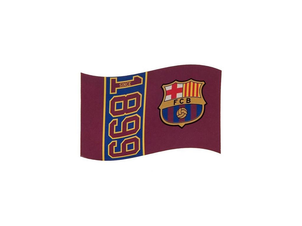 Vlajka FC Barcelona since 152 x 91 cm