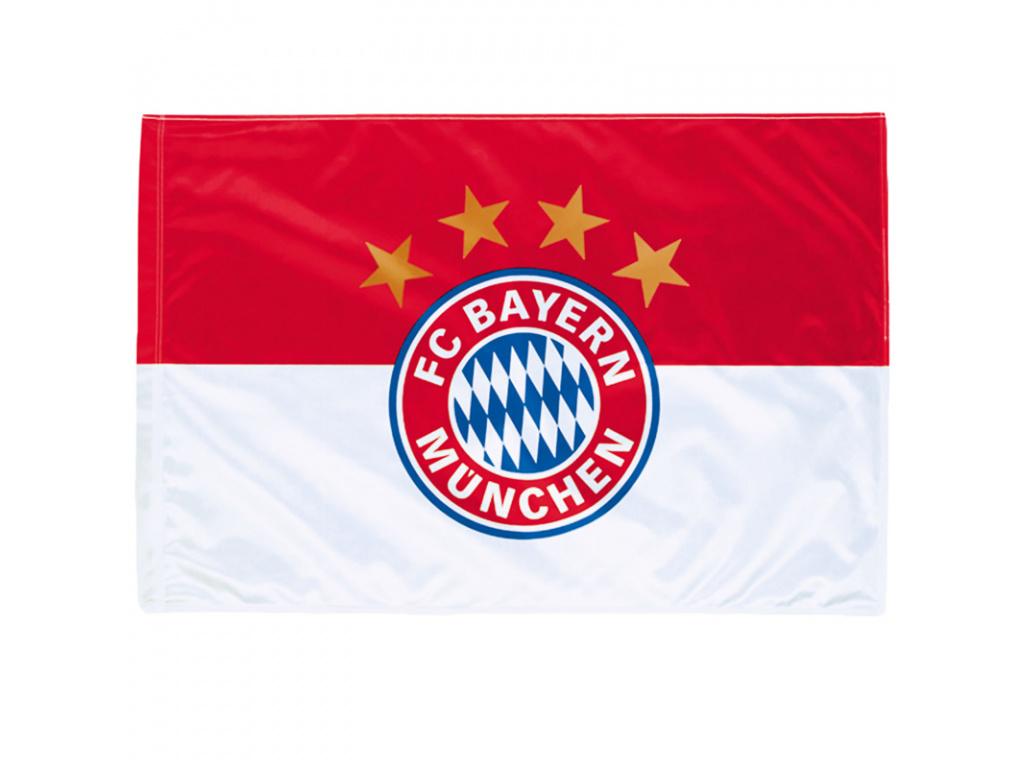 Vlajka Bayern Mnichov logo 90x60 cm