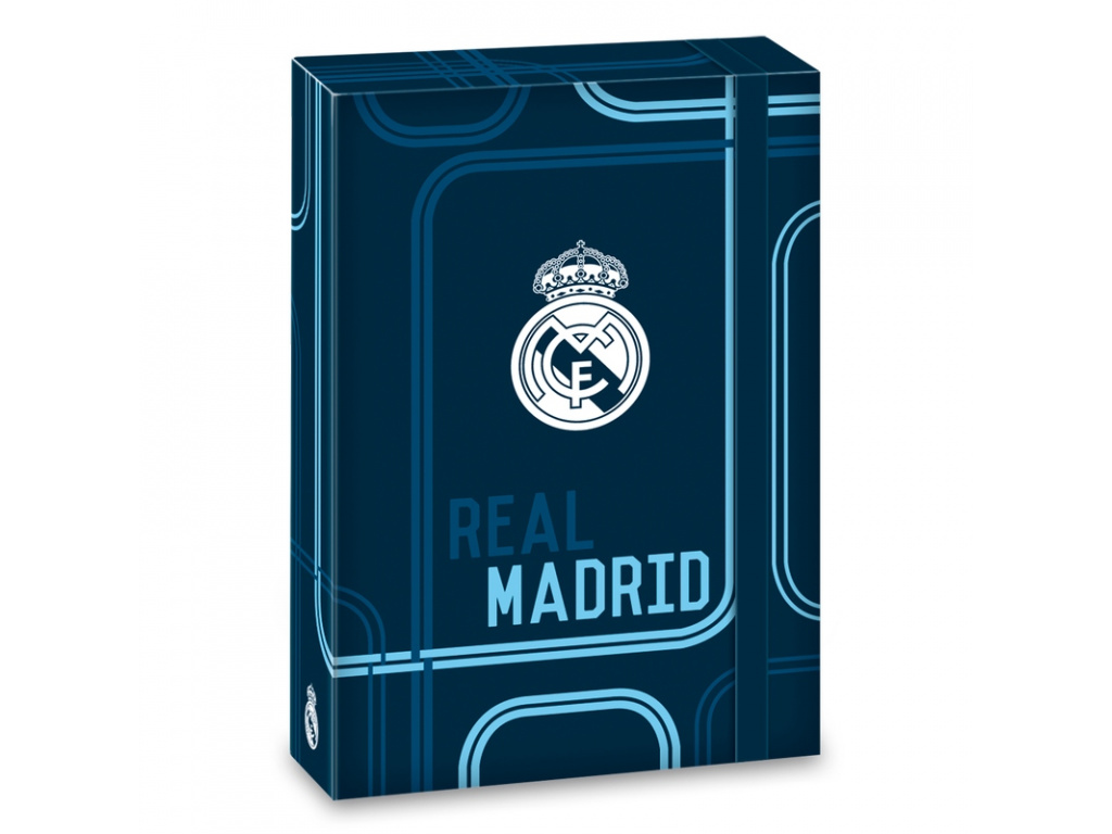 Box na sešity Real Madrid blue 17 A5