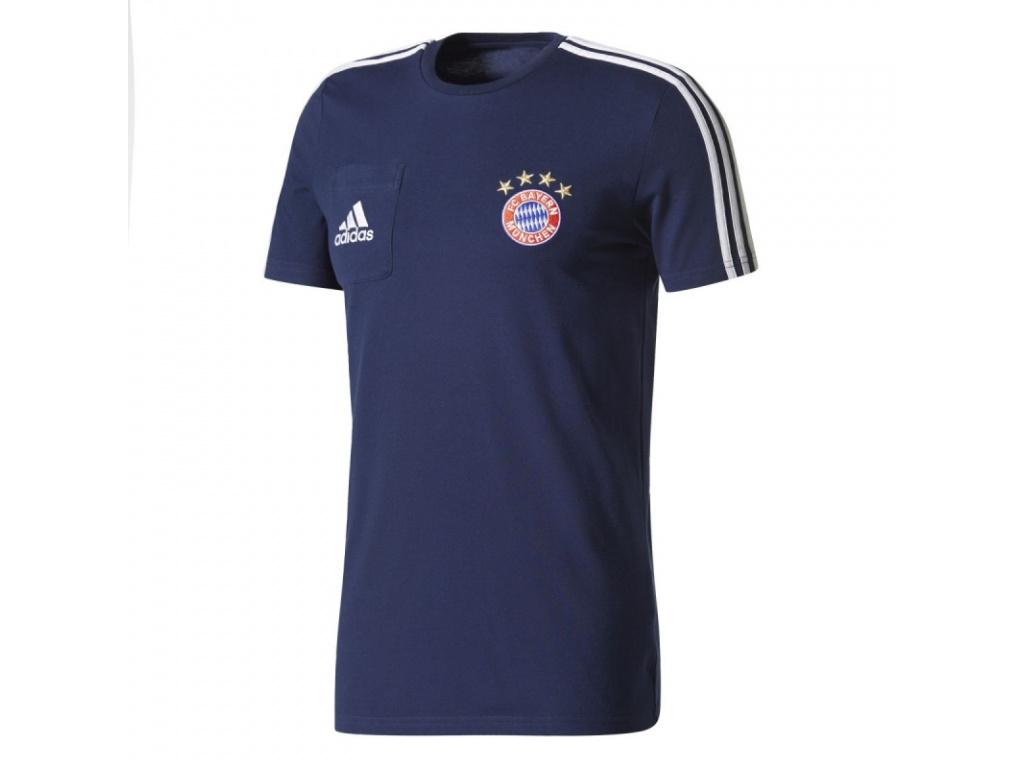 Pánské tričko Adidas Bayern Mnichov 17/18 modré