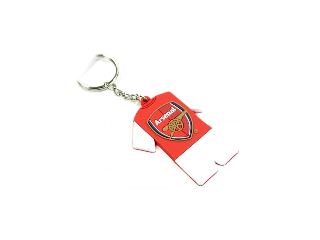 Přívěšek na klíče Arsenal dres pvc