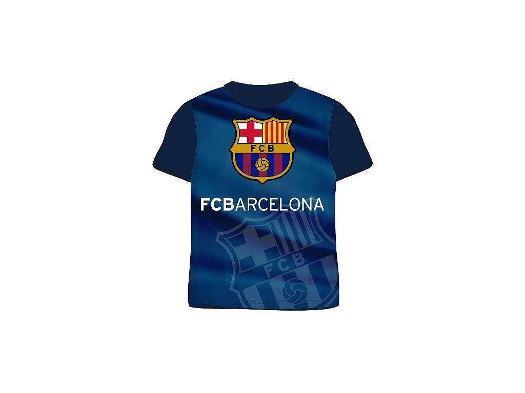 Dětské tričko FC Barcelona training navy