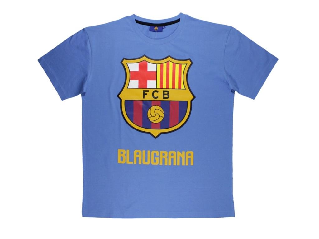 Pánské tričko FC Barcelona světle modré