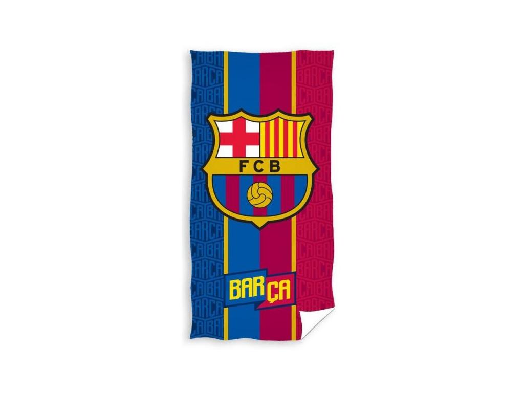 Osuška FC Barcelona Crest 17 75x150cm