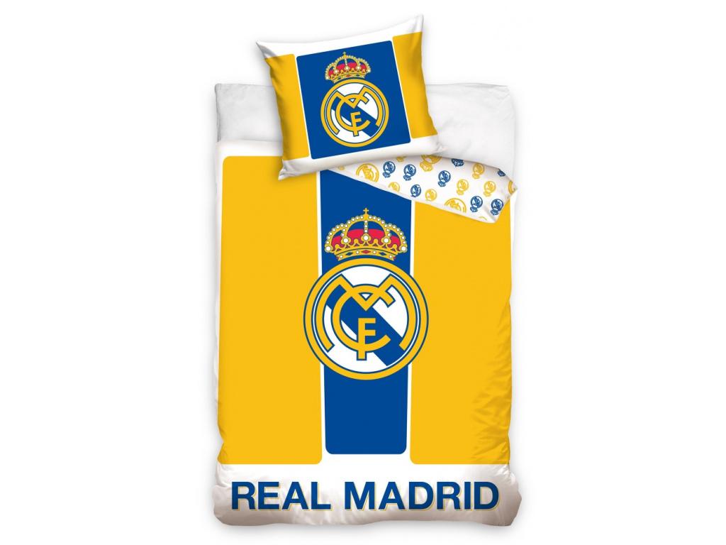 Povlečení Real Madrid yellow 140/200, 70/80 cm