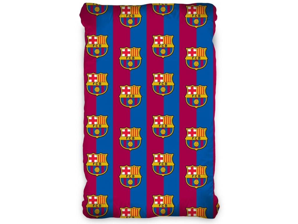 Prostěradlo FC Barcelona 90x200 cm