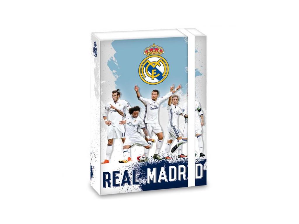 Box na sešity Real Madrid players A5