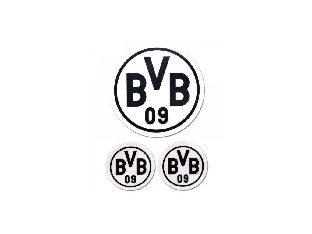 Samolepky Borussia Dortmund 3pk black