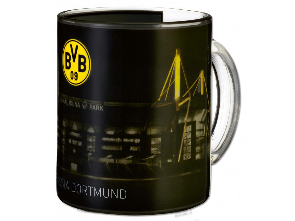 Skleněný hrnek Borussia Dortmund Iduna 300ml