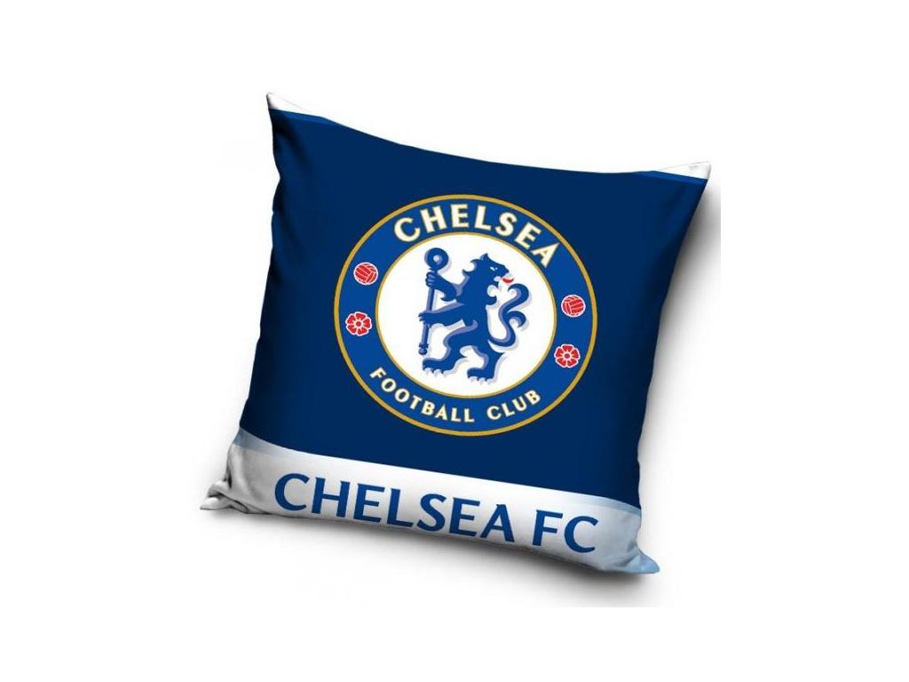 Povlak na polštářek Chelsea FC dark blue 40x40cm