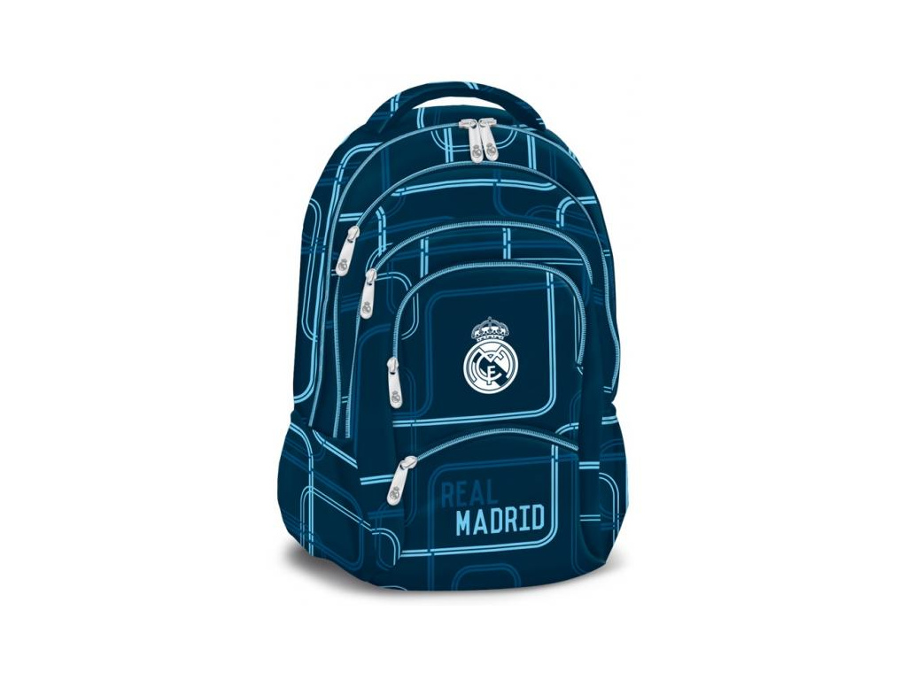 Školní batoh Real Madrid blue 17 5k