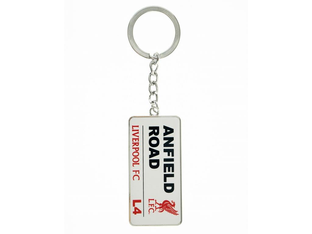 Přívěšek na klíče Liverpool FC street
