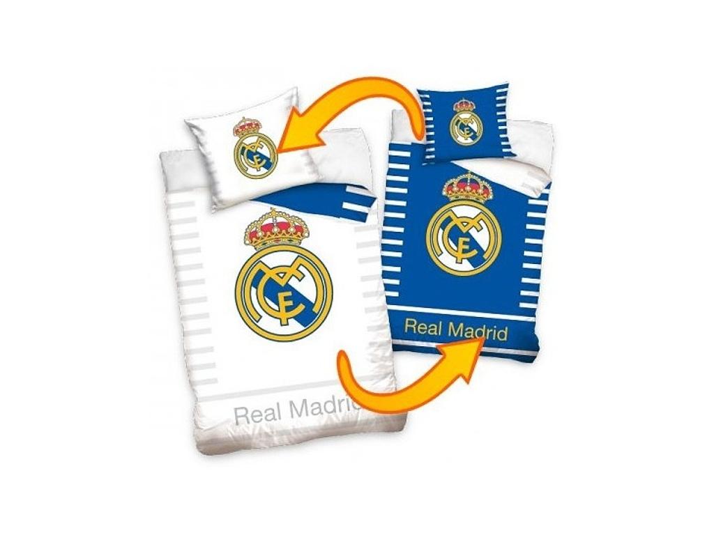 Povlečení Real Madrid double 140/200 cm, 70/80 cm