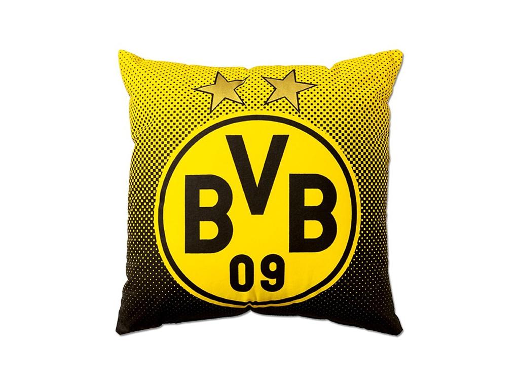 Polštářek Borussia Dortmund crest 40x40 cm