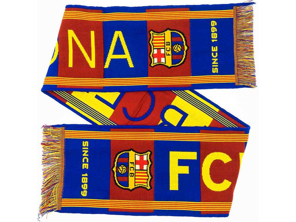 Šála Barcelona FC since 140 x 20 cm