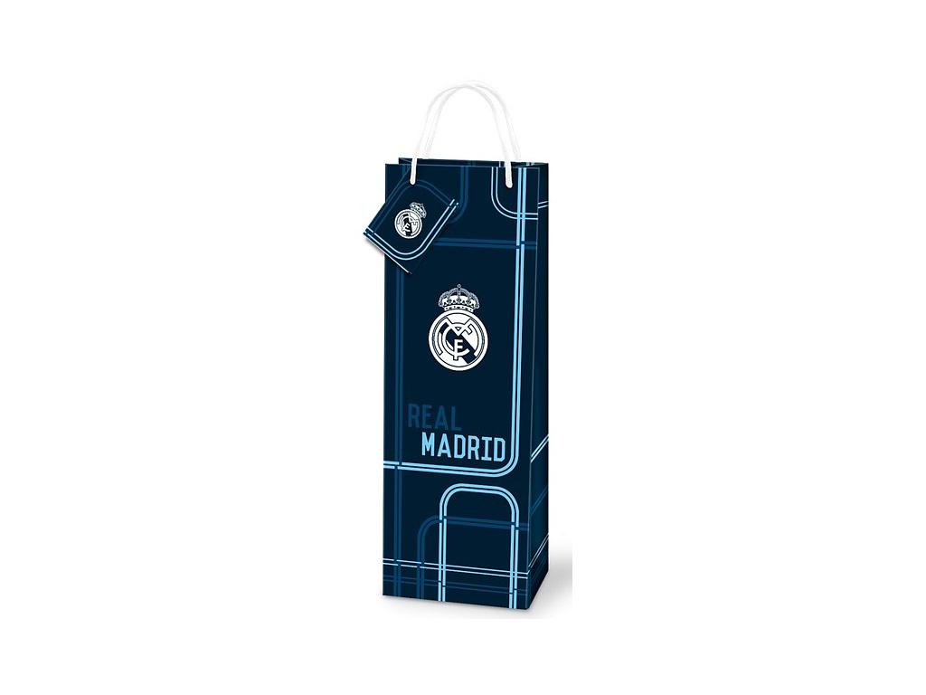 Dárková taška na láhev Real Madrid