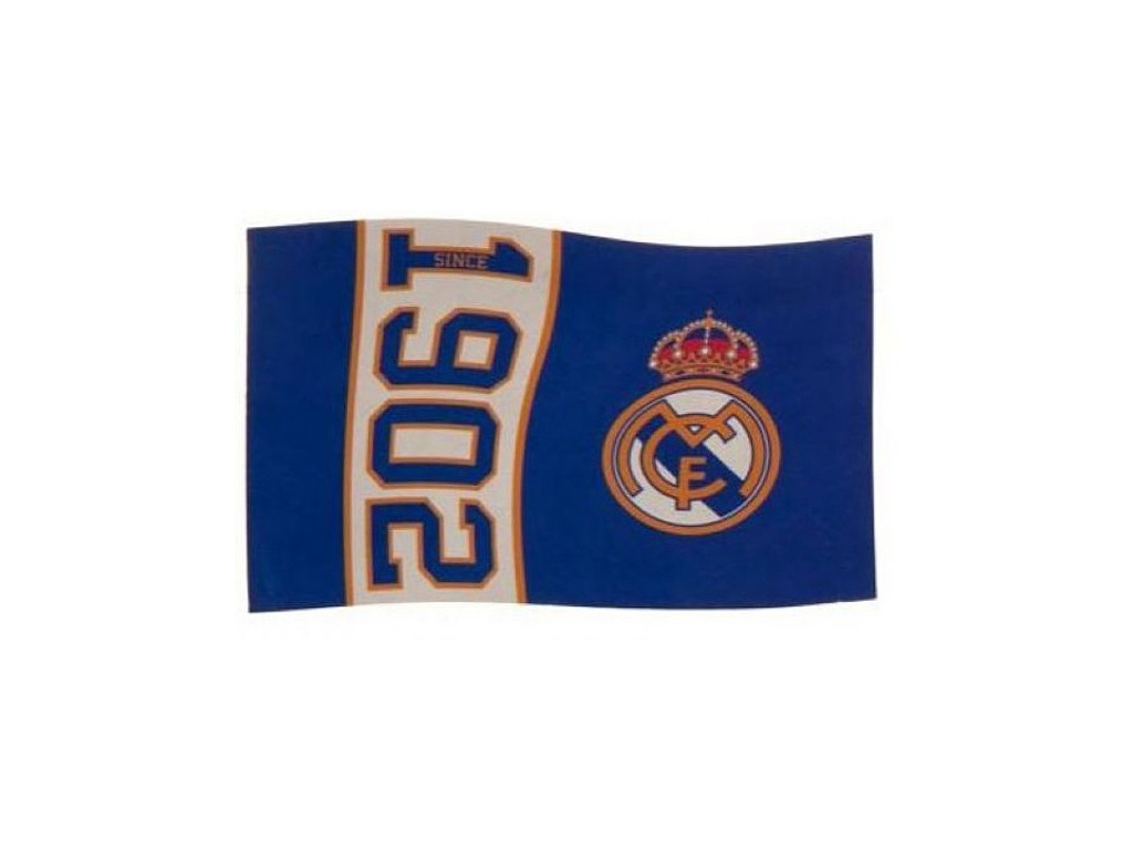 Vlajka Real Madrid since 152 x 91 cm